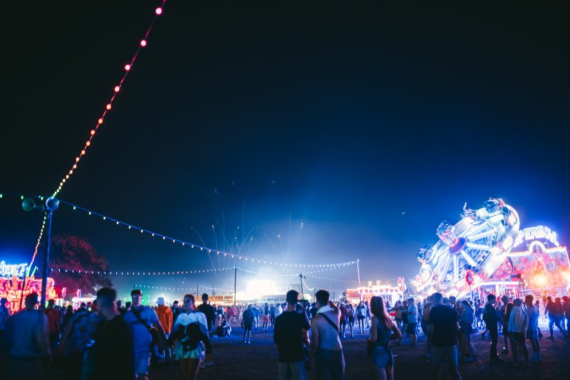 Reading Festival at Night