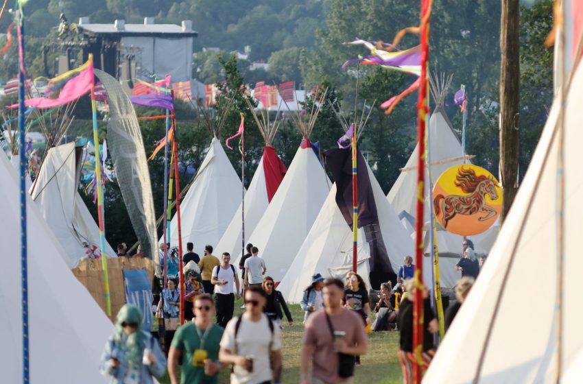 Glastonbury announce new 'Sticklinch' campsite with Podpads, Yurts and Bell Tents