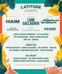 Latitude Festival 2020 line-up poster