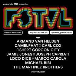 WeAreFSTVL 2020 festival line-up poster