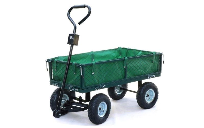 Yaheetech Steel Garden Cart is the best festival trolley