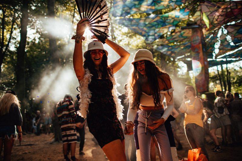 Boomtown Psyforest Dancing Sunlight