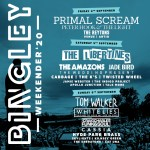 Bingley Weekender 2020 line-up poster