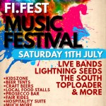 Fi:Fest 2020 line-up poster