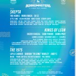 Boardmasters 2020 line-up poster