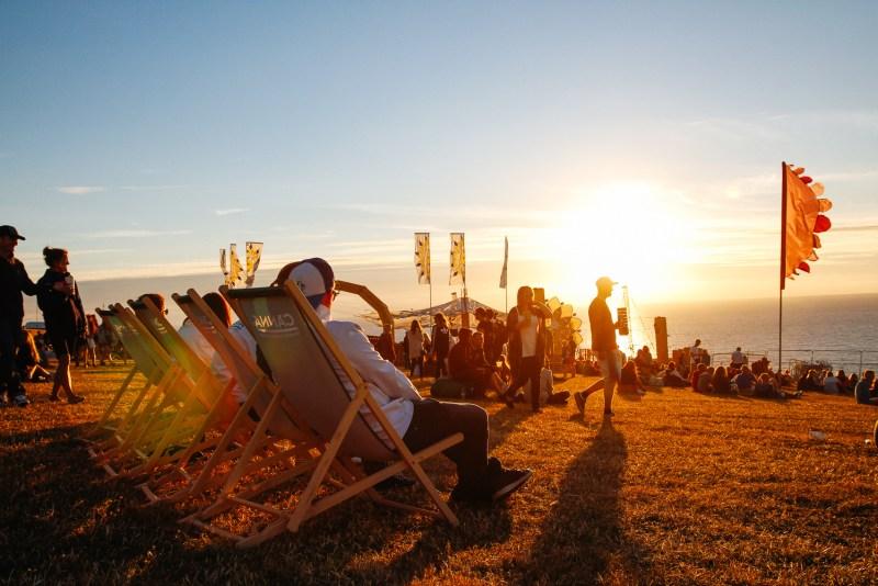 Boardmasters beach chairs