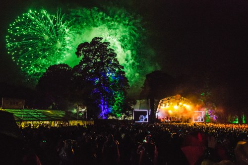 Kendal Calling main stage fireworks