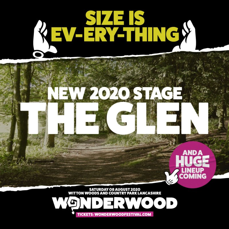 Wonderwood The Glen Stage reveal