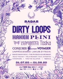 RADAR Festival 2020 line-up poster