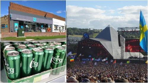 Glastonbury Carlsberg Co-op competition