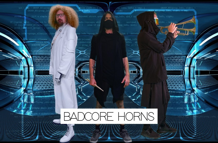 Flu World Order_: The immersive Badcore Horns livestream from the future reaching you tonight