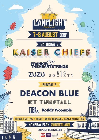 Lamplight Festival 2021 updated line-up poster