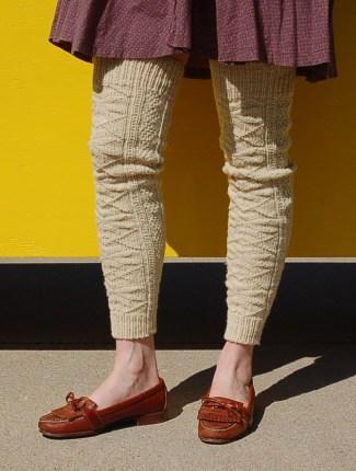 Aspen Leg Warmer Snoqualmie Front