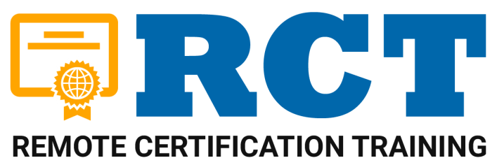 Remote Certification Training (RCT)