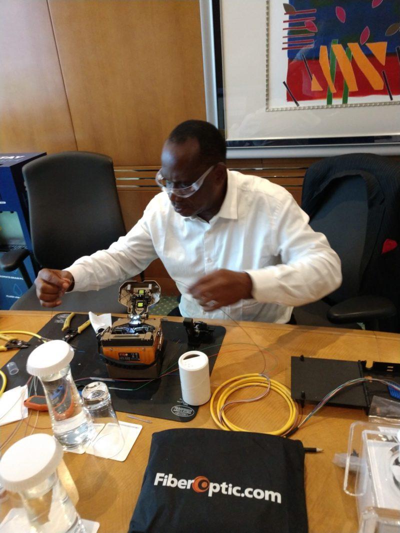 Fiber Optic Outside Plant Technician Training Dubai