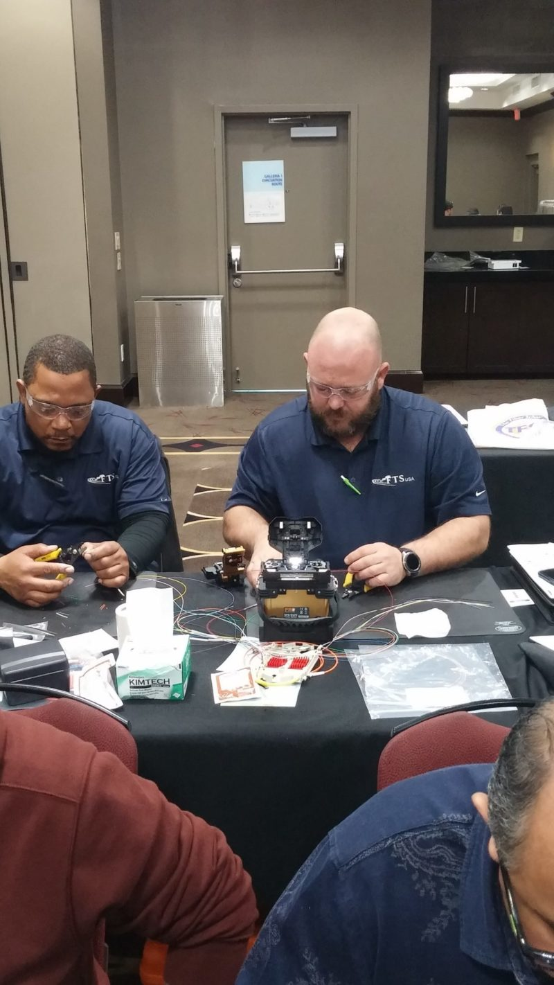 Fiber Optic Training - The Fiber School - Dallas, TX