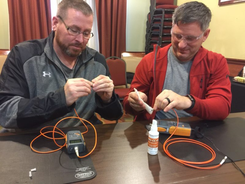 Fiber Optic Training - The Fiber School - Certified Fiber Optic Installer