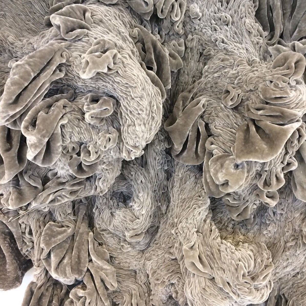 Hanne Friis Smocked Sculptures