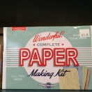 All you need to make paper!