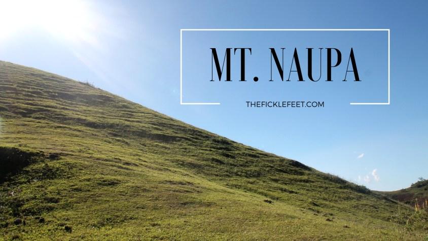 Mt. Naupa: Chasing Sunset