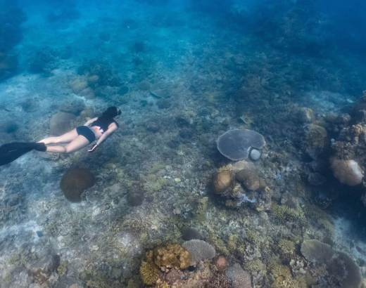 Freediving in Limasawa Island 4