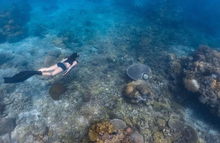 Freediving in Limasawa Island 45
