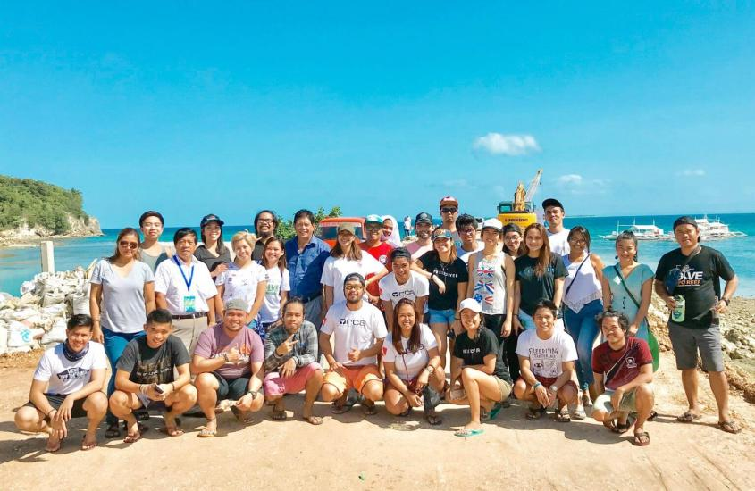 Malapascua Island Ocean Clean Up with Litterless PH and Orca Freedivers Philippines