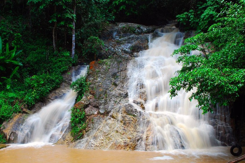waterfalls in mainland Southeast Asia