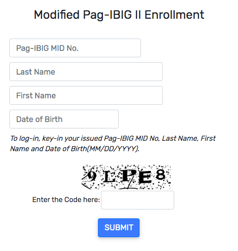 How to Enroll MP2