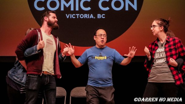 The Fictionals convention comedy