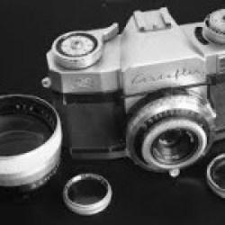 Zeis Ikon Contaflex film camera