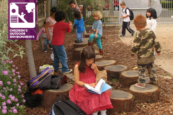 """Rosa Parks kids engage in """"free play"""" outdoors"""