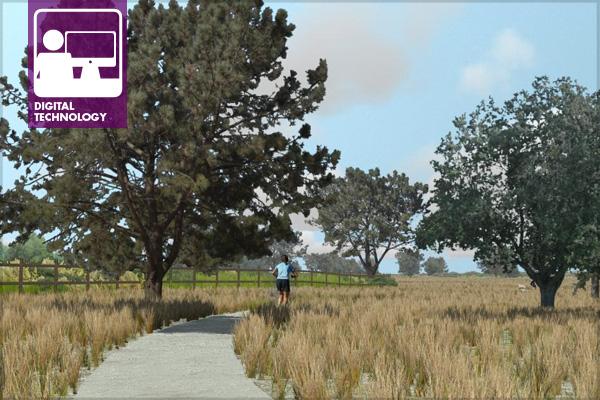 Fiesta Island Running Trail, generated in Visual Nature Studioimage: David Leonard