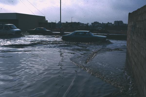 Flood in Saudi Arabia image: Erik Mustonen