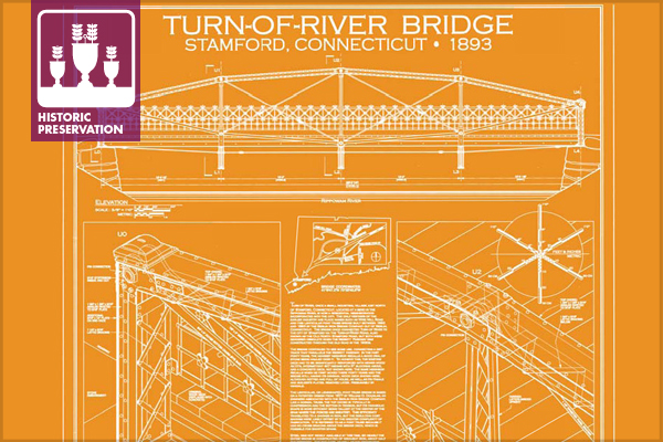 2013 Holland Prize Winner: Turn-Of-River Bridge (HAER CT-192), Stamford, CT image: Morgen Fleisig, delineator