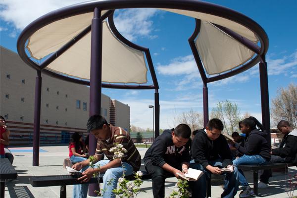 Harrington Elementary's outdoor classroom image: Michelle Burdis