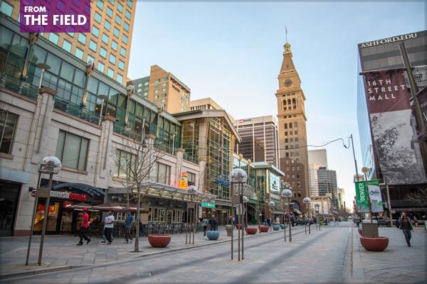 Denver's 16th Street Mall image: Kent Kanouse via Flickr