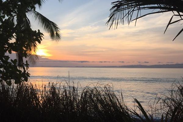 Sunrise on the Osa Peninsula, Costa Rica image: Lisa Bailey