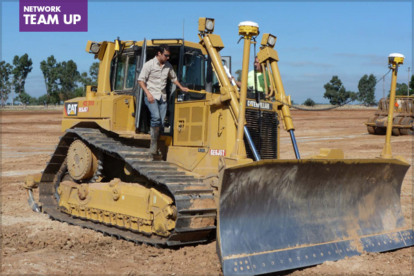 Real Time Kinematic (RTK) Construction Equipment to validate elevation during construction. image: Wildlands