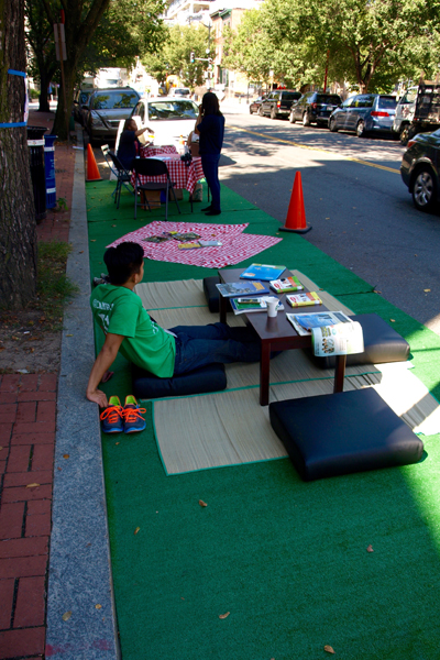 The Mayor's Office on Asian and Pacific Islander Affairs' parklet image: Alexandra Hay