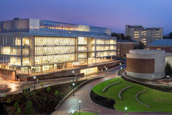 University of North Carolina, Bell Tower Development image: courtesy of Hoerr Schaudt