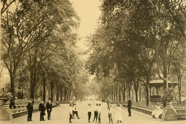 Central Park circa 1892 image: The Internet Archive via Flickr