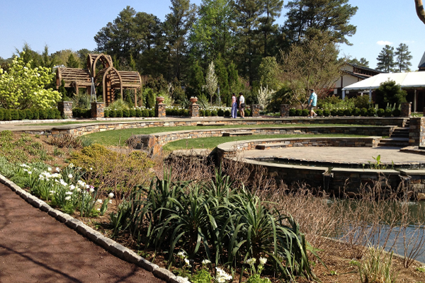 Duke University's Sarah P. Duke Gardens image: Kevin Oliver via Flickr