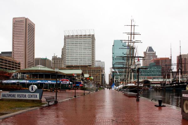 Figure.5 Inner Harbor Baltimore, MD image: Taner R. Ozdil, 2014