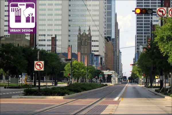 Figure.1 Main Street District, Houston, TX image: Taner R. Ozdil, 2007
