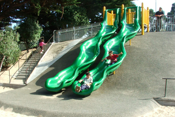 Dennis the Menace Park in Monterey, CA image: Miracle Play Systems