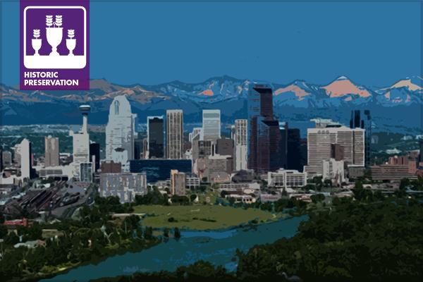 The Skyline of Calgary, Alberta, Canada / image: Eric MacDonald