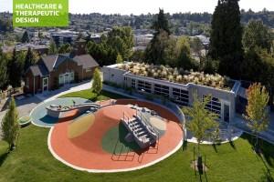 Children's garden play space