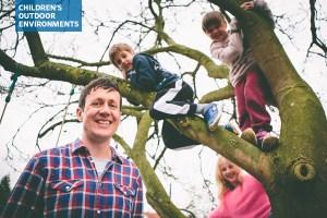 Patrick Barkham and his family