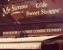 Mr Simms Olde Sweet Shopp